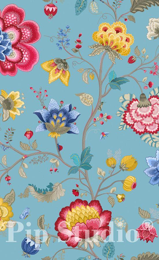 Papier peint Floral Fantasy