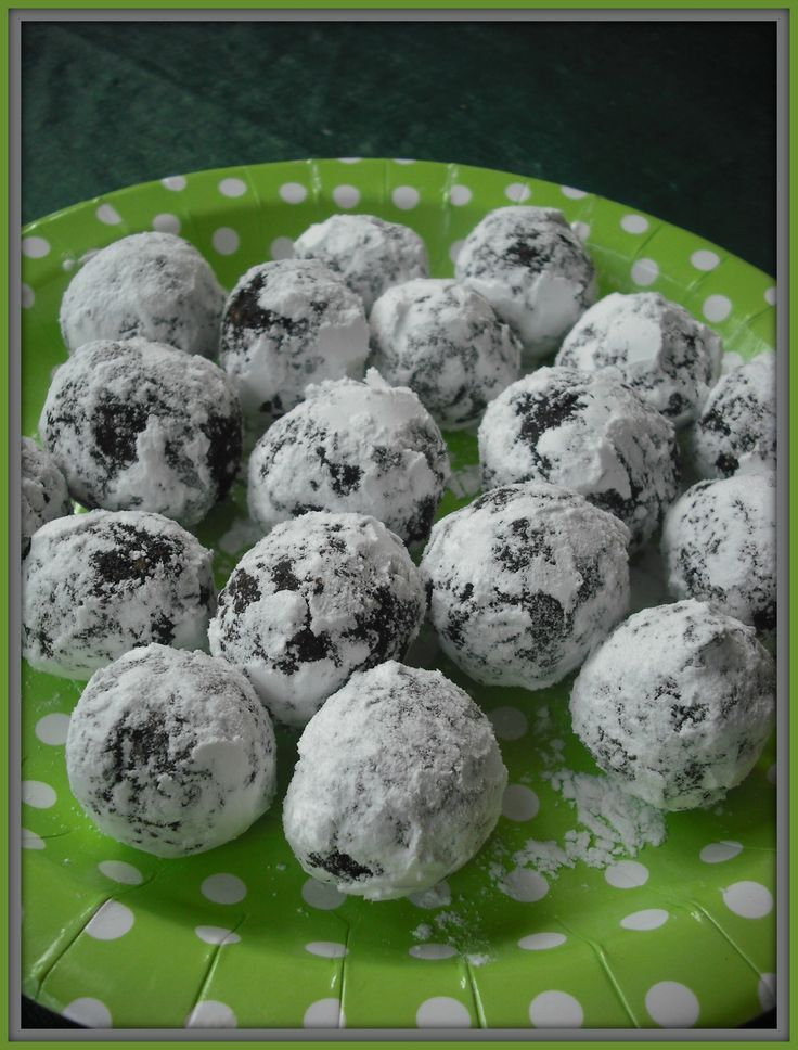 No-Bake Fudgy Snow Balls (Points : 2 pts – SP: 3) | Christmas ...