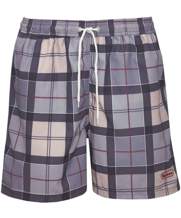 Men's Barbour Tartan Lomond Shorts - Dress Tartan