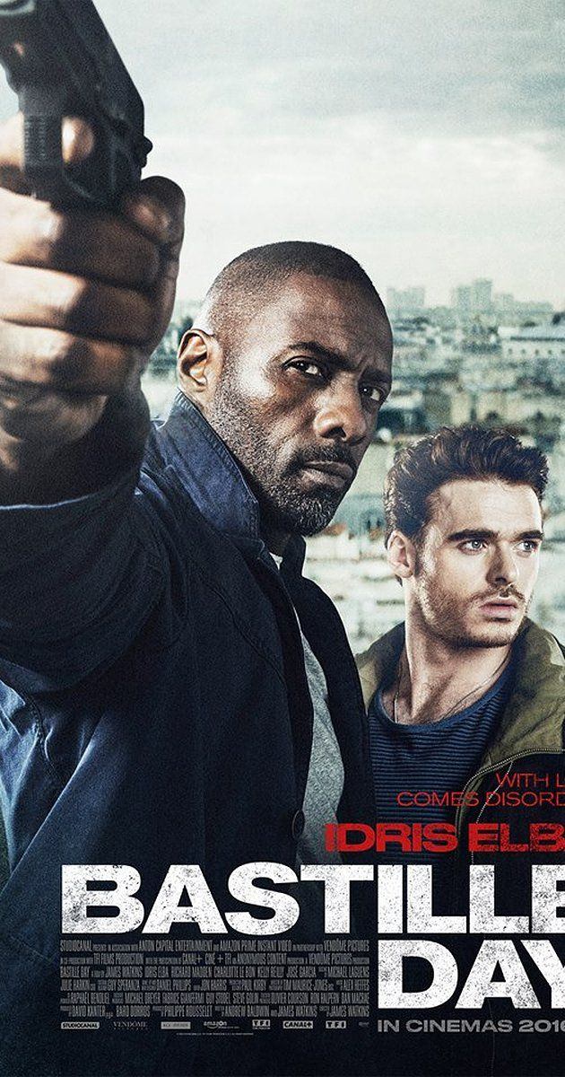 Directed by James Watkins.  With Idris Elba, Richard Madden, Kelly Reilly, Charlotte Le Bon. A young artist and former CIA agent embark on an anti-terrorist mission in France.