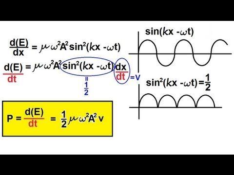 Physics - Mechanics: Mechanical Waves (20 of 21) Energy Carried by a Wave 2