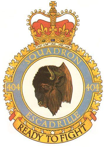 404 Squadron Badge - The Canadian Navy - ReadyAyeReady.com
