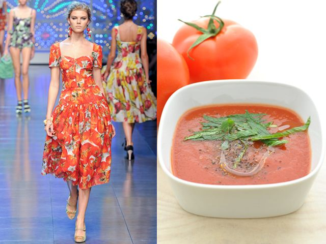 DOLCE & GABBANA / ROAST TOMATO AND MINT SOUP