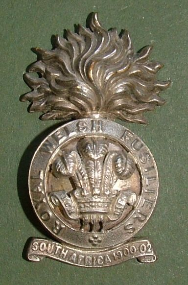 OSD White Metal Badge c1905.