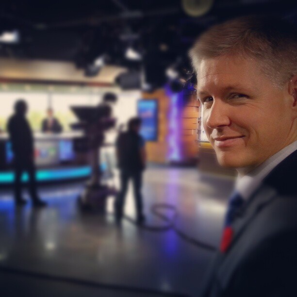 Rob Brown has a great newscast coming up at 5 p.m. tonight with Keri Adams. http://instagr.am/p/Rf9m-HM-hO/