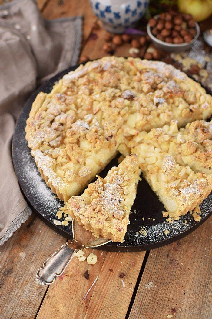 Apfel Streusel Kuchen Apple Crumble Cake Apfelkuchen Rezept Mit Streusel Streusel Kuchen Quark Streuselkuchen