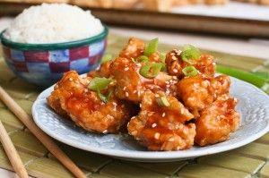 Bocconcini di pollo in salsa piccante