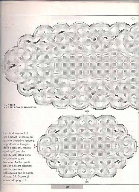 Kira scheme crochet: Scheme crochet no. 1062