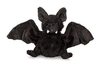 Webkinz-Bat-Black-HM-367-Plush-Stuffed-Animal-Toy-No-Code-Ganz-EUC-Lovey