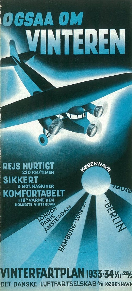 Airline brochure 1933