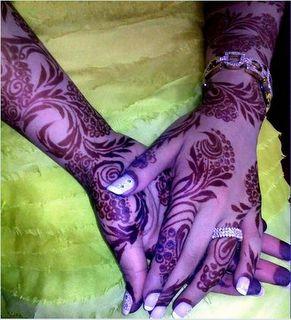 Emarati henna design