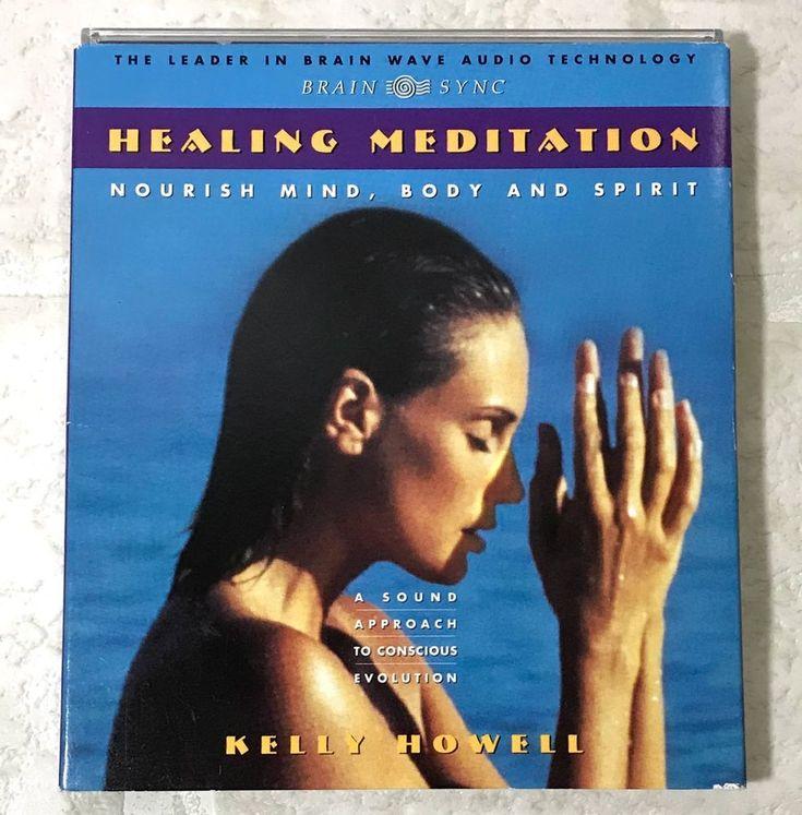 Healing Meditation CD Nourish Mind Body and Spirit by Kelly Howell 1994 #meditation #healingspirit #zen