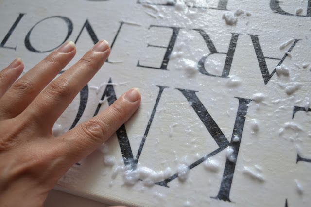 regal me: Paper-To-Canvas Transfer To do with Christmas carols words