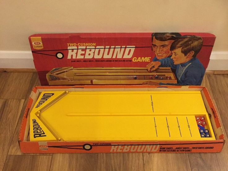 Rebound Game Rare Vintage 1970's in Toys & Games, Games, Board & Traditional Games | eBay!