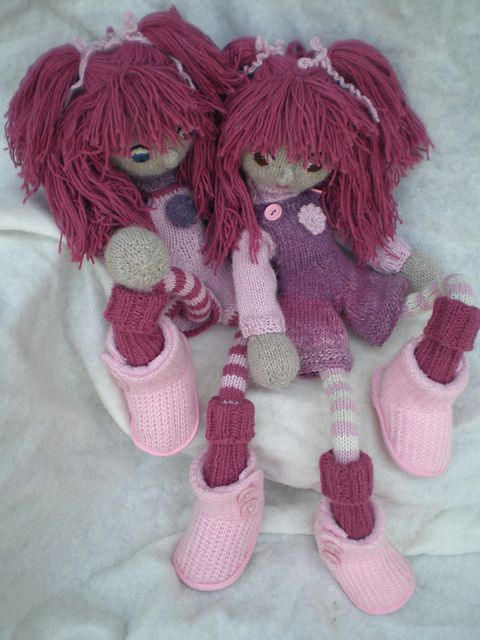 Ravelry: InekeVerbakel's Twins Britt and Bibi