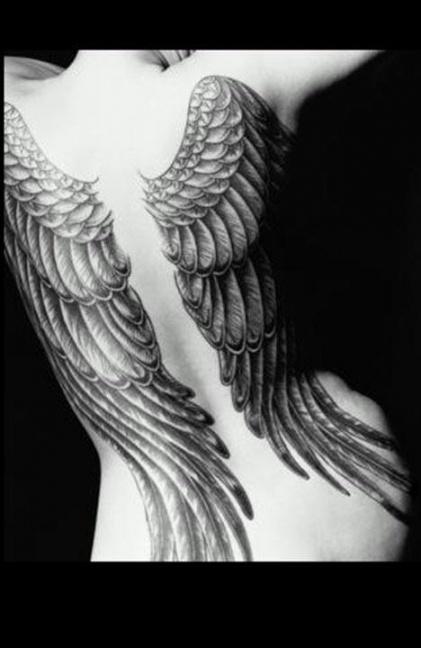 Angel wings #tattoo