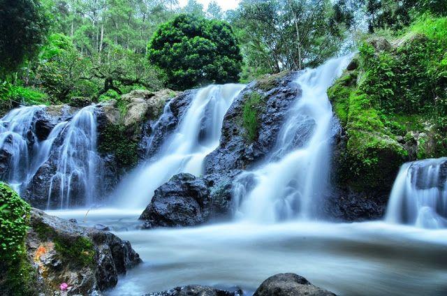 Indahnya Air Terjun Maribaya di Lembang Bandung - nongsik
