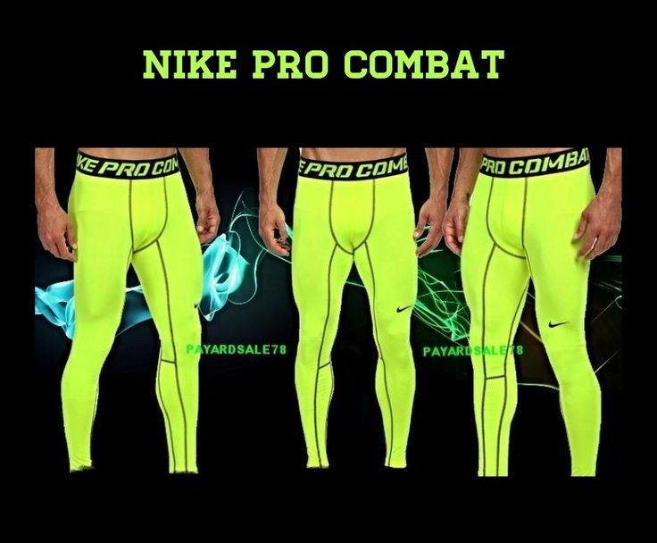 NEW MEN'S NIKE PRO COMBAT DRI-FIT HYPERWARM PANTS TIGHTS COMPRESSION MEDIUM  RUN #Nike