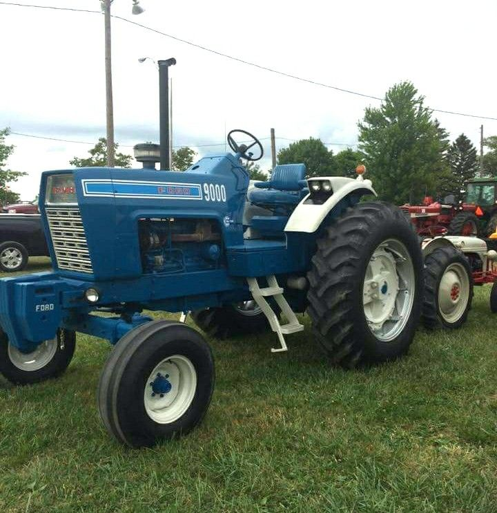 1972 Ford 9000 Tractor : Best blue ford tractors images on pinterest