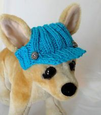 piggy hats to crochet for small dogs   ... Spring Outfit Crochet Hand-Knit Dog Hat for Small Dogs Nice Gift