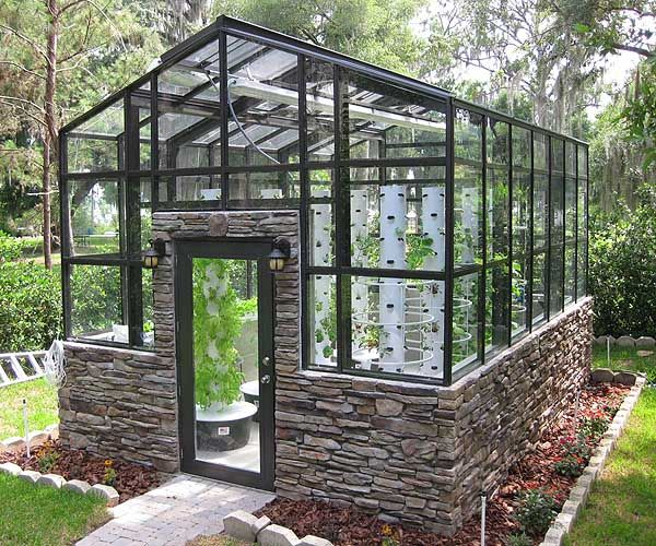 Amazing Hydroponic Garden .. pair this with the pin about making a shed using reclaimed doors and windows and this is virtually free food for your future n :)