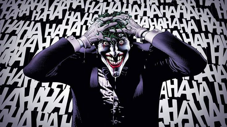 """""""They laugh at me because I'm different. I laugh at them because they're all the same."""" - Joker  #haha #joker #quote #think #dc #batman #different #meme #same #laugh #awesome"""