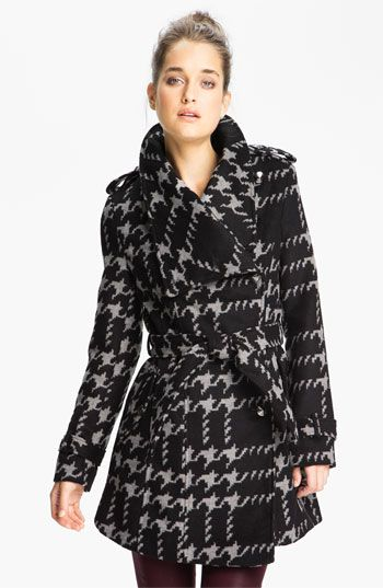 Yeah. I totally need this coat. -- Sam Edelman Wing Collar Wrap Jacket | Nordstrom
