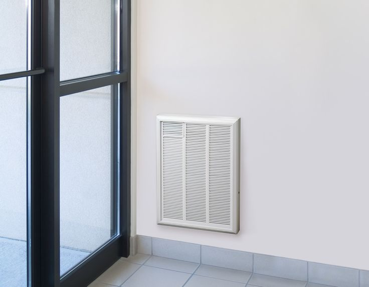 Image result for industrial forced air electrical wall heaters heat to floor