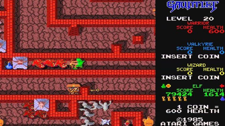14-gauntlet #retro games