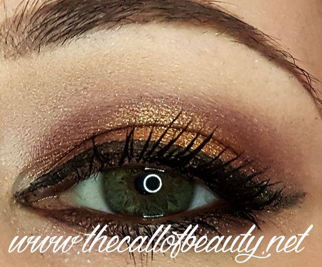 The Call of Beauty: Make Up of the Day: Morphe Copper & Brown