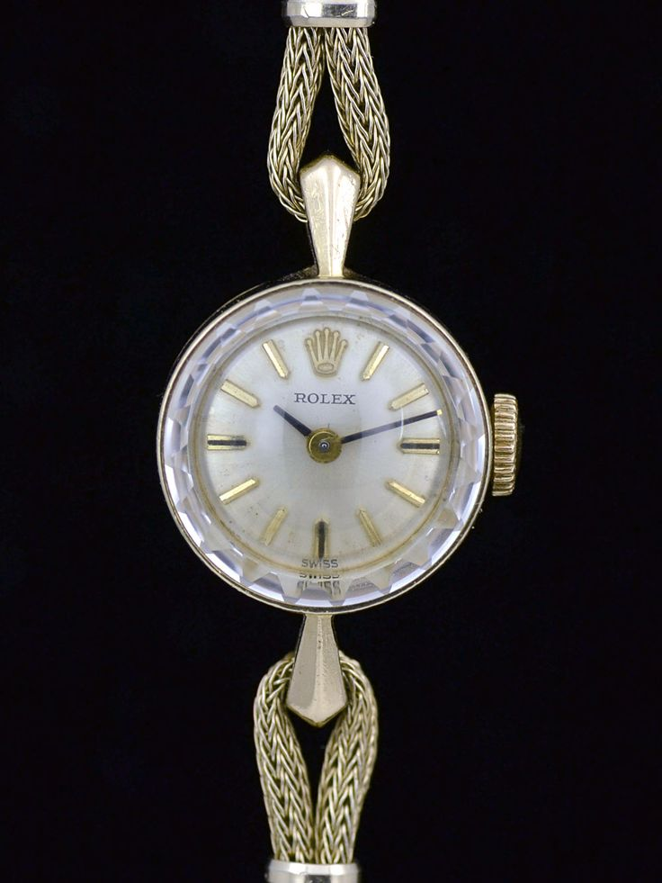 Ladies Vintage Rolex Cocktail Watch Uk