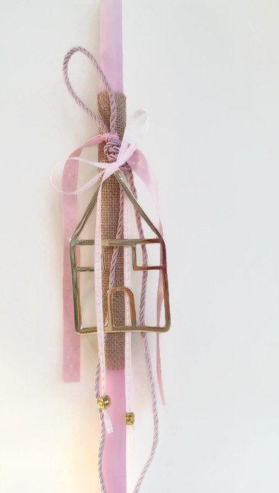 Greek Easter candle (lambada) - Sweet house