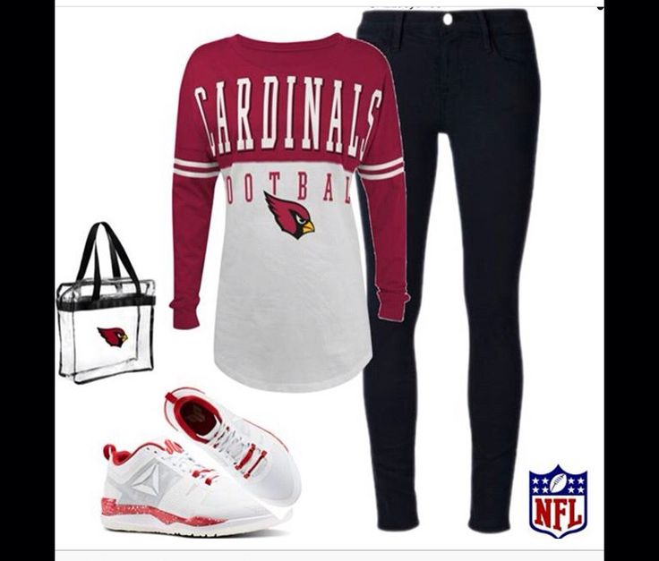 As Cardinals outfit paired with JJ Watt shoes.