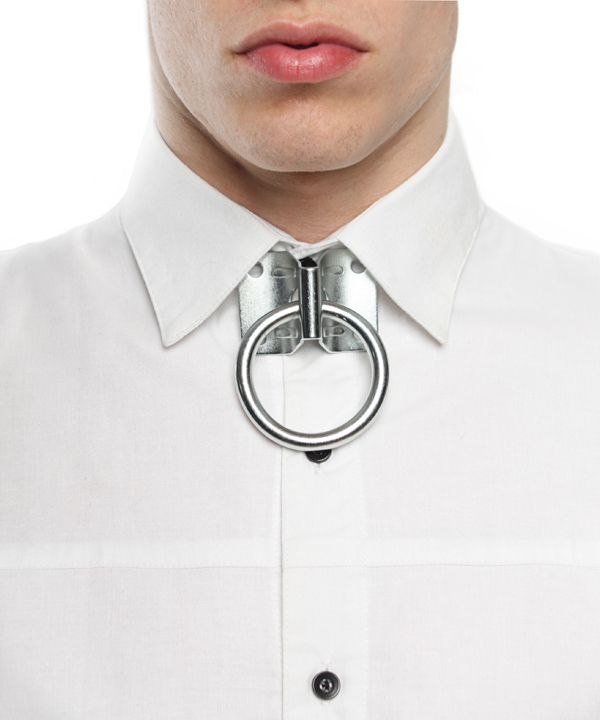 Hardware. Mens' tie-surrogate - Hitch ring from Bond hardware #mens #style