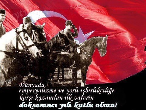 Dünya'da emperyalizme ve yerli işbirlikçilerine karşı kazanlılan 30 Ağustos Zafer Bayramı Kutlu/Mutlu olsun !