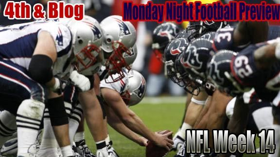 The Province Blog  NFL Monday Night Football preview: Texans vs. Patriots    The Vegan Destroyer