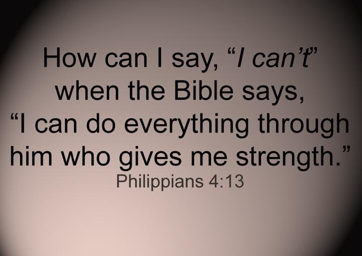 Bible says...