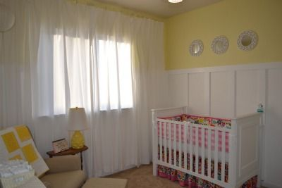 Nursery Reveal: Cheerful Yellow and Pink Girl's Space
