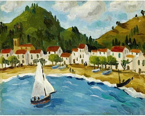 Bay, South of France (1924) by Christopher Wood