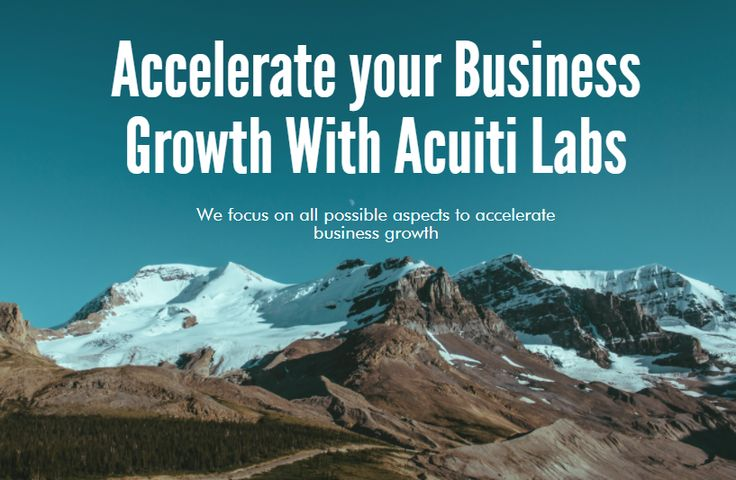At Acuiti Labs, you get the perfect strategies to accelerate your business growth! We have a team of experienced professionals to offer you the best solutions to enhance your overall business growth >> http://acuitilabs.co.uk/business-consulting/
