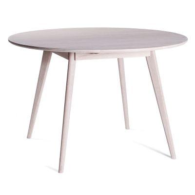 Nordik matbord, vitoljad ek