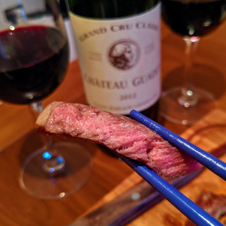 ♨️ Chilean Wagyu Ribeye yes please grilled over