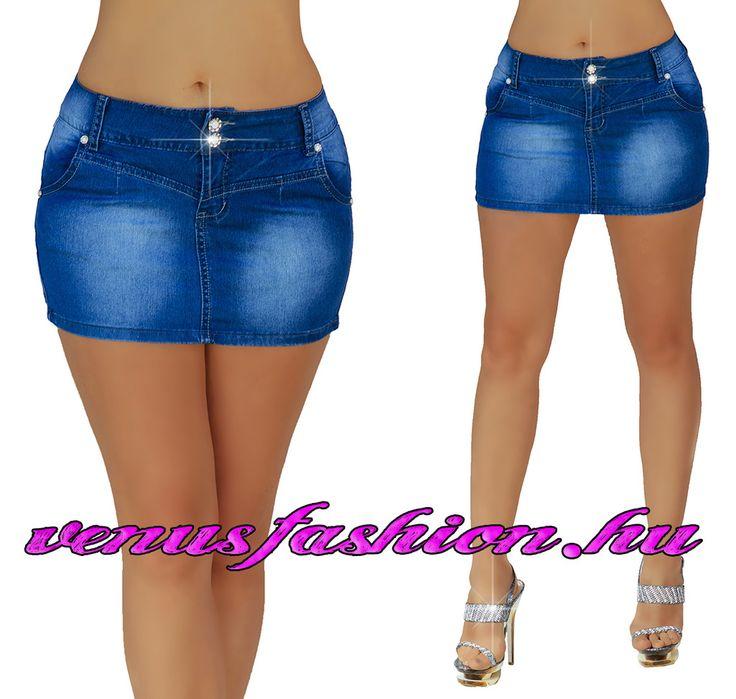 Sexy farmer mini szoknya XS S M L XL méretekben - Venus fashion női ruha webáruház