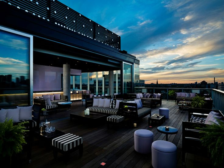 Thompson Toronto's exclusive rooftop bar and lounge