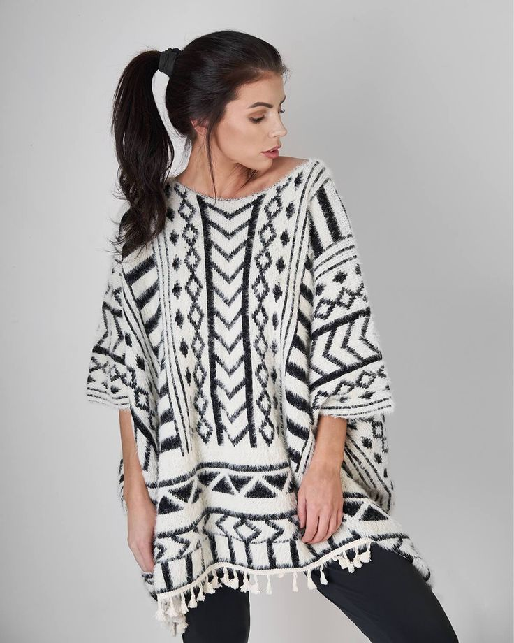Molly Bracken | Knitted Poncho, on sale now for $63.00
