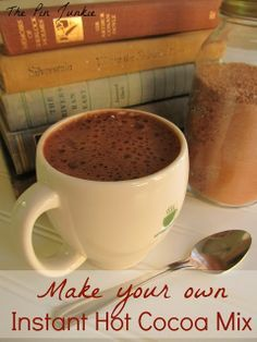 The Pin Junkie: Make Your Own Instant Hot Cocoa Mix via  S. S. {The Pin Junkie}