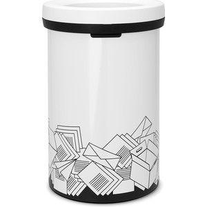 Brabantia Afvalverzamelaar Open Top Bin 60 Liter is een robuuste afvalverzamelaar zonder deksel. U deponeert uw afval rechtstreeks in de afvalemmer.4 verschillende series in met opdruk 1.papier, 2.restafval, 3.pmd, 4.plastic.Bodem met kunststof beschermrand wat krassen voorkomt op ondergrond. Grote opening voorkomt morsen.Open Top Bin 60l. toepasbaar voor magazijnen, werkplekken, kantoren waar niet iedere dag geleegd wordt.Brabantia afvalzakken met trekbandsluiting maat H (60l.)…