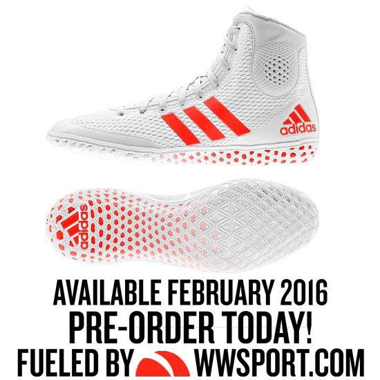 Adidas Tech Fall 16 Rio Wrestling Shoe..I'm getting a pair like these soon !!
