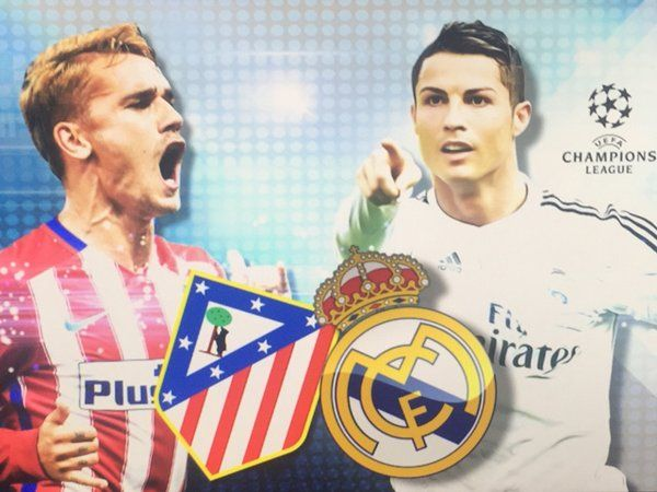 "Appuntamento alle 20:45 di questa sera per la diretta streaming di Real Madrid vs Atletico Madrid ""Revancha"" finale di Champions League a San Siro."
