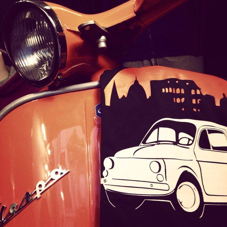 #Vespa #Roma #Trastevere #Tshirt
